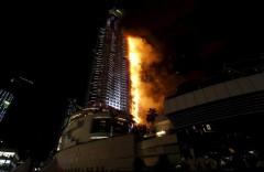 В Мумбаи загорелся небоскреб