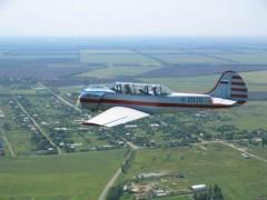 В Алтайском крае рухнул легкомоторный самолет Як-52