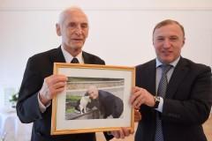 Глава Адыгеи встретился с народным артистом СССР Василием Лановым