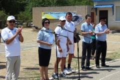 В Калмыкии состоялся детский физкультурно-спортивный праздник