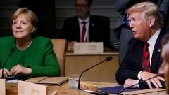 На саммите G7 Трамп бросил конфеты в сторону Меркель