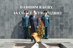 Мурат Кумпилов принял участие в акции «Свеча памяти»