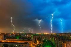 На выходных на Краснодарский край обрушатся ливни с грозой, градом и шквалистым ветром
