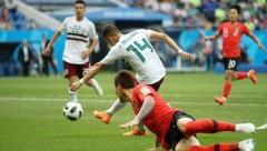 Сборная Мексики обыграла Южную Корею в матче ЧМ-2018