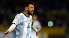 Месси забил мяч на 14-й минуте матча ЧМ-2018 «Нигерия–Аргентина»