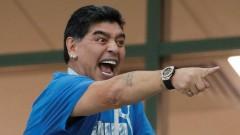 Слухи о госпитализации Марадоны после матча «Нигерия–Аргентина» не подтвердились