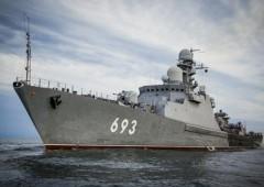 Дежурное подразделение Каспийской флотилии отразило нападение условных диверсантов на КПП