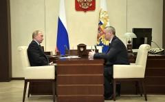 Президент РФ провел рабочую встречу с врио губернатора Новосибирской области