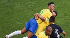 Сборная Бразилии, обыграв Мексику, вышла в четвертьфинал ЧМ-2018