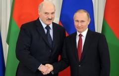 Путин поздравил Лукашенко с Днем независимости Республики Беларусь