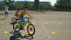 Ставропольские полицейские организовали турнир для юных велосипедистов