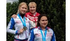 Краснодарская спортсменка в составе сборной России завоевала «серебро» Кубка мира по стрельбе
