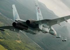 На Кубани истребители перехватили условного нарушителя воздушного пространства России