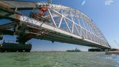 Из-за строительства Крымского моста ЕС обложил санкциями шесть компаний