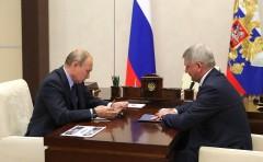 Путин обсудил с врио губернатора Воронежской области создание в регионе особой экономической зоны