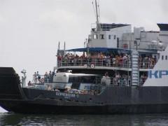 После 9 часов простоя паромная переправа в Керченском проливе возобновила работу