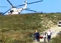 Пострадавших туристов эвакуировали из горного района Геленджика