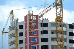 В Астраханской области ввод жилья в I полугодии вырос на 10%