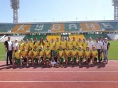 Спортсмены «Кубаночки» сдали нормативы ГТО со звездой