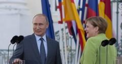 Переговоры Путина и Меркель длились 3 часа