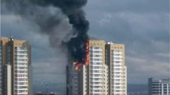 В Екатеринбурге 37 человек эвакуированы из-за пожара в жилом доме