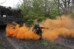 На российской военной базе в Южной Осетии объявлена учебная тревога