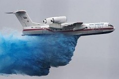 Таганрогский авиазавод передал МЧС самолет-амфибию Бе-200ЧС