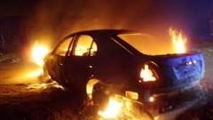 В Моздоке задержан подозреваемый в поджоге машины
