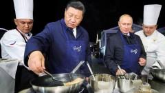 Владимир Путин и Си Цзиньпин приготовили блины и выпили водки
