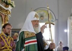 Всенощное бдение в кафедральном соборе Ейска возглавил Патриарх Кирилл