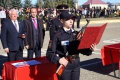 В Ставрополе первокурсники высшего учебного заведения МВД России приняли Присягу